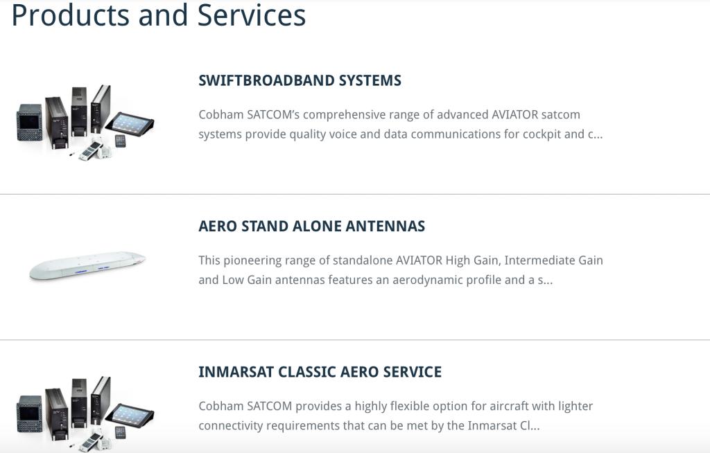 COBHAM Aero Services